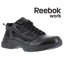 Reebok Men's 3.5M  Women's  5 Black  Rapid Response Tactical Work Shoes
