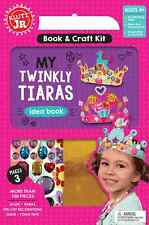My Twinkly Tiaras - Makes 10 Educational Klutz Jr Idea Book & Craft Kit Ages 4+