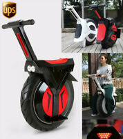 NEW Electric Unicycle 500W One Wheel Scooter 17 Inch Off Road LED Monowheel