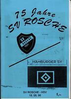 19.05.1996 SV Rosche - Hamburger SV (75 Jahre SV Rosche)