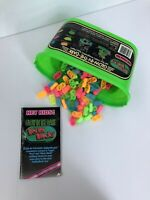 Vintage BETTER BLOCKS NZ Made Glow In The Dark Building Blocks With Instructions
