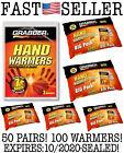 Grabber Warmers Big Pack 7 + Hours Hand Warmers, 5x 10 PACKS! 100 WARMERS TOTAL!