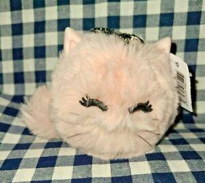 NEW Pink Cat Pom PocketBac Sanitizer Holder Bath & Body Works SHIPS FREE!