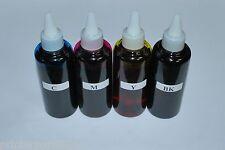 Dye Ink for Primera Label Printer LX900/RX900. 4x100ml (CMYK). US Fast Shipping.