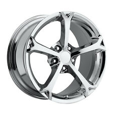 Corvette Grand Sports chrome Reproduction Wheels 17/18 For C5