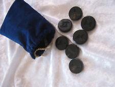 Runenset aus Wasserbüffelhorn