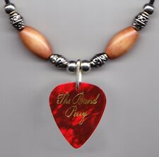 The Band Perry Reid Perry Red Pearl Guitar Pick Necklace - 2012 Tour