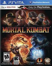 Mortal Kombat 9 Komplete Edition PS VITA GAME BRAND NEW MK9 UNCUT