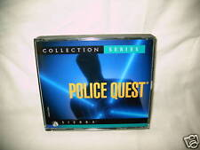 POLICE QUEST COLLECTION SERIES (PC GAMES) [ 5 DISC's ]