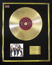 BIG TIME RUSH BTR CD GOLD DISC FREE P+P!