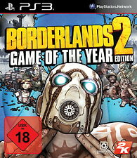 Borderlands 2 -- Game of the Year Edition (Sony PlayStation 3, 2013, DVD-Box)