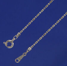 "10 x 16"" Silver Tone Fine Bead and Bar chains  J1102"