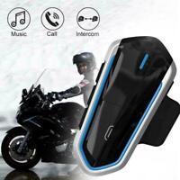 B35 BT Bluetooth Motorrad Helm Headset MP3 Mikrofon Kopfhörer Kopfhörer F2U7