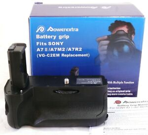 Powerextra Battery Grip for Sony A7 II, replaces Sony VG-C2EM NEW #31846