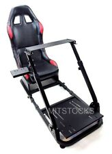 Tanaka Driving Simulator Wheel Stand Cockpit Gaming Chair +Shifter Mount + Seat
