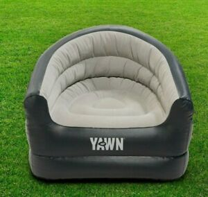 YAWN AIr Chair Inflatable Sofa Lounger Blow Up Seat Outdoor Camping