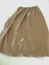 Womens, lingerie, Half Slip, by Yves Saint Laurent, Small, Brown, made Usa, #B1