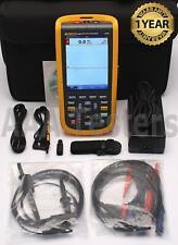 Fluke 124b Industrial Scopemeter 40mhz Handheld Oscilloscope Scope Meter 124