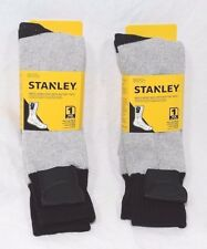 2 Pair Stanley Battery Operated Heated Thermal Socks Mens Size 10-13 Hunting