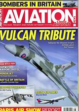 Aviation News Magazine 2015 August B-52,Vulcan,Delta Airlines,AV-8B,BA 707
