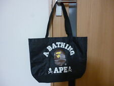 A Bathing APE & Mastermind BAPE Japan Tote Bag Black Gift 279