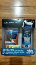 Gillette Fusion ProGlide Styler 3 in 1 Men's Razor Shaving GEL 200ml Gift Set