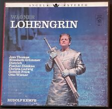 HMV ANGEL AN 121 - 125 AA-9041-E JAPAN WAGNER LOHENGRIN KEMPE VPO 5LP'S BOX RARE