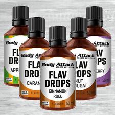 Body Attack Flav Drops 50ml 9,78 ?/100ml flüssige Aromen Flavor Fitness