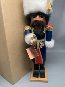 "Vintage Christian Ulbricht 16"" Soldier Nutcracker Cossack made in Germany"
