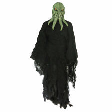 Cthulhu Alien Tentacle Monster Adult Mens Costume Mask & Gown fits L- XXL