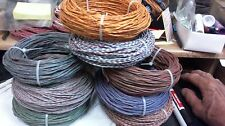 54 ft coil Western Electric 20ga pair late 50s vintqge CLOTH