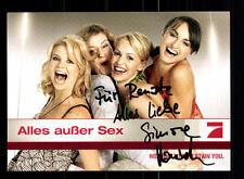 Todo excepto el sexo pro 7 autografiada mapa original firmado # bc 76927