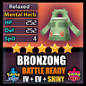 Pokemon Sword Shield 6IV SHINY Bronzong and BATTLE READY IV Competitive FAST