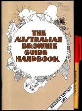 The AUSTRALIAN BROWNIE GUIDE HANDBOOK EC. 103 pages 1991
