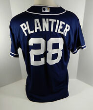2012 San Diego Padres Phil Plantier #28 Game Issued Navy Jersey