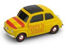 """1/43 FIAT 500 """"HASTA LA VISTA"""" - """"VIVA LA VIDA""""  Brumm BR057"""
