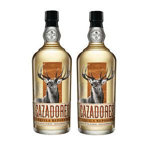 2x CAZADORES Tequila Reposado 0,7l 40% Vol Alkohol Mexiko 100% blaue Weber-Agave