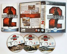 Battlefield 2 DELUXE EDITION (PC, 2005) COMPLETE VIDEO GAME ORIGINAL