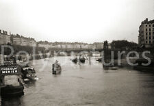 Lyon Saône Pont de la Feuillée du Change Repro tirage photo ancienne déb. XXe s.