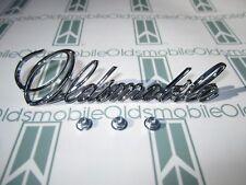 "1971-1972 Olds Cutlass  & 442 Hood Script Emblem with Hardware | ""Oldsmobile"""