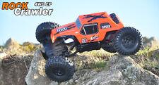 BSD Racing Rock Crawler RC Truck 1/12 Scale 4WD Radio Remote Control Car Orange