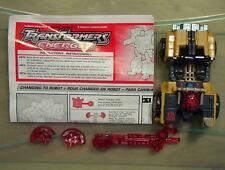 Transformers 2003 Energon Strongarm C-6 w/Instructions Hasbro Autobot Omnibot!!!