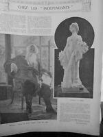 1907 Mid Portrait Vladimir Strassof Critical Art Russian Imperial Rousselet