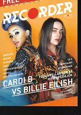 Hungarian Magazine Recorder - 070 - Cardi B vs. Billie Eilish cover