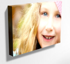 YOUR PHOTO PICTURE PERSONALISED ON CANVAS PRINT  DEEP FRAME MATAGA