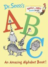 Bright and Early Board Books(TM): Dr. Seuss's ABC : An Amazing Alphabet Book! by