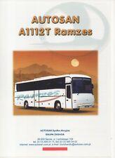 Autosan A1112T Ramzes bus (made in Poland) _2001 Prospekt / Brochure