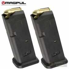 TWO MAGPUL 10 GL9 GLOCK 19 26 9mm 10 Round MAGAZINES 907 BLK FAST SHIP