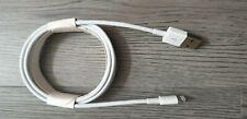100% Original & Original Oficial Apple iPhone X/8/7/6S/6+/5S Cargador Cable Usb 2