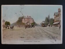 West Midlands WOLVERHAMPTON Chapel Ash showing TRAMS c1904 Old Postcard